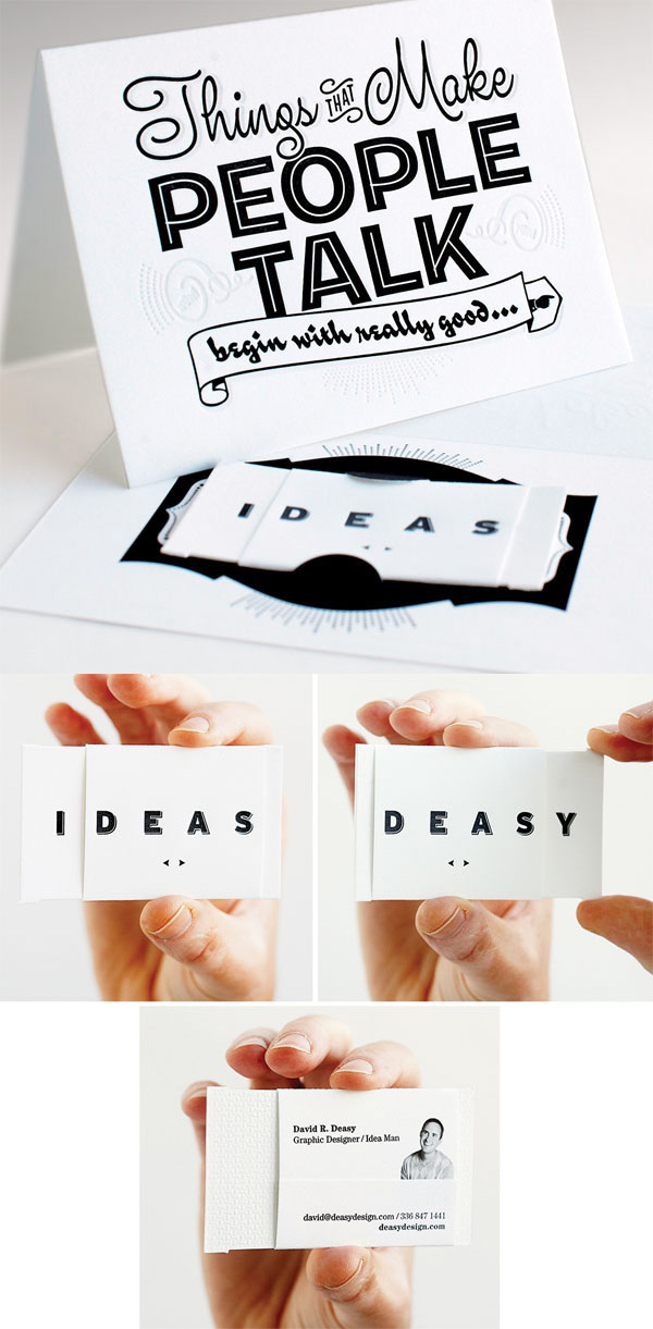 Deasy Design's Business Card