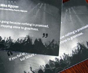 DJ Mike Nguyen's Business Card