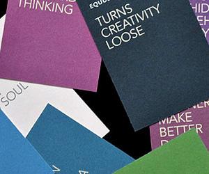 Equus' Brand Consultant Business Cards