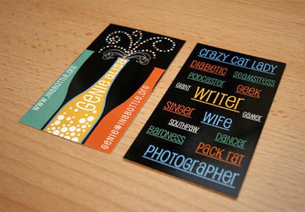 Genie Alisa's Cute Business Card