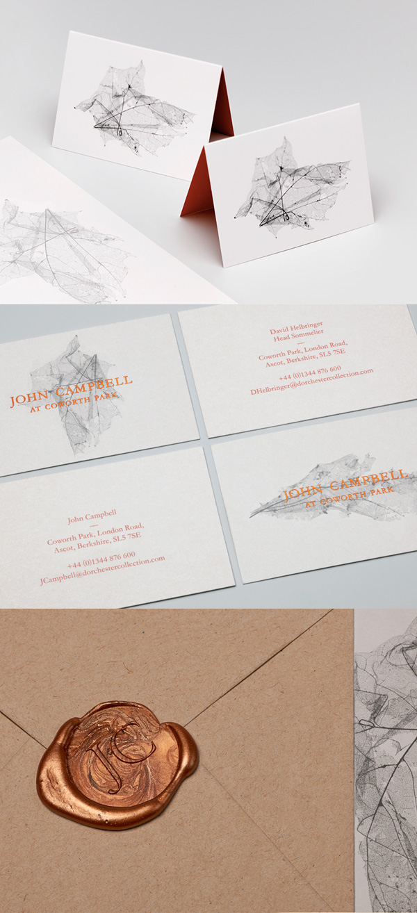 John Campbell's Artistic Business Card