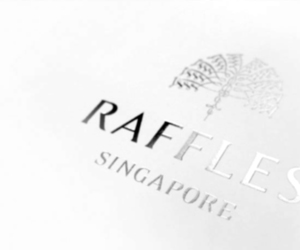 Raffles Resort's Luxurious Business Card