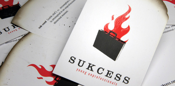 Sukcess' Cool Business Card