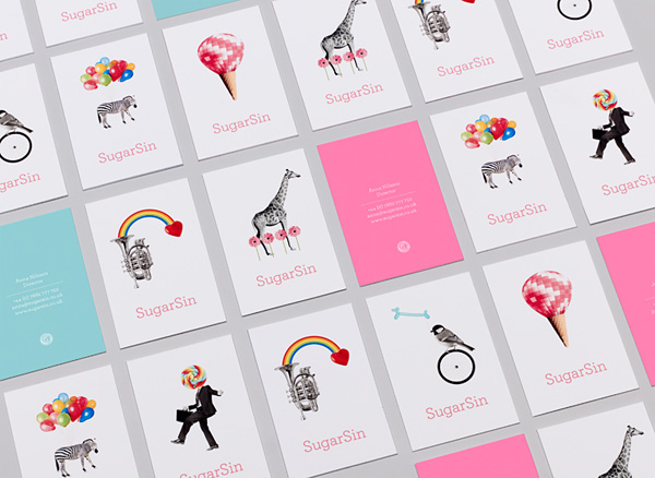 SugarSin's Cute Business Cards