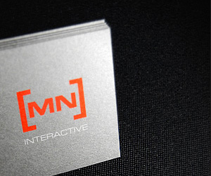 MN Interactive's Minimalist Business Card