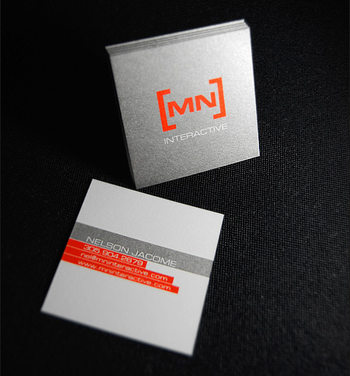 MN Interactive's Cool Business Card