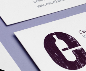 Escola's Minimalist Business Card