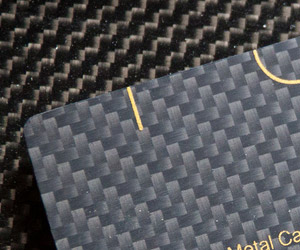 Carbon Fiber Business Cards by Pure Metal Cards