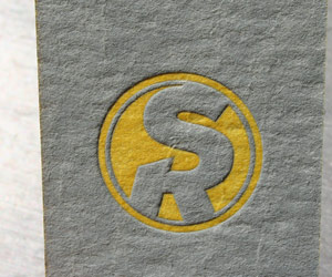 Scott Regan's Fun Letterpress Business Card