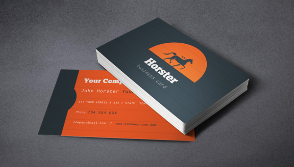 PixEden's Free, Simple Industrial Business Card Template