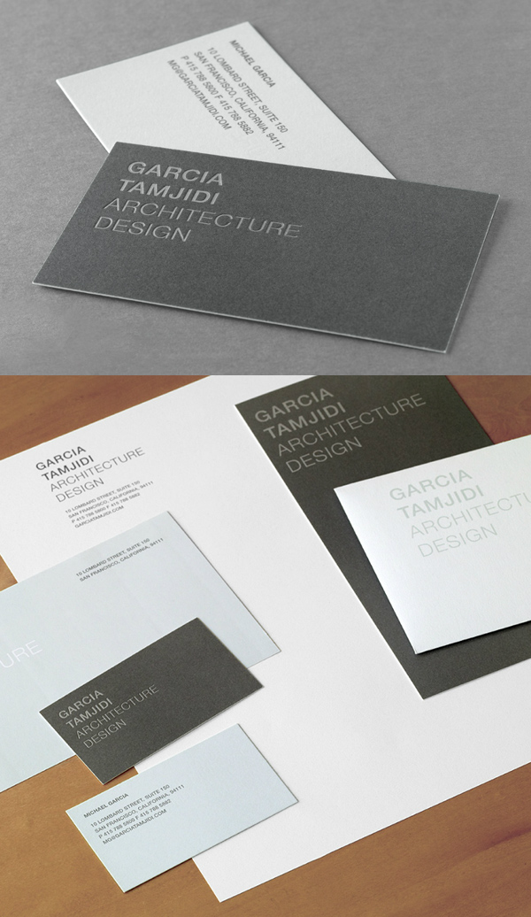 Garcia Tamjiji Minimalist Business Card