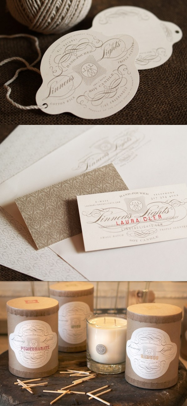 Linnea's Lights Business Card