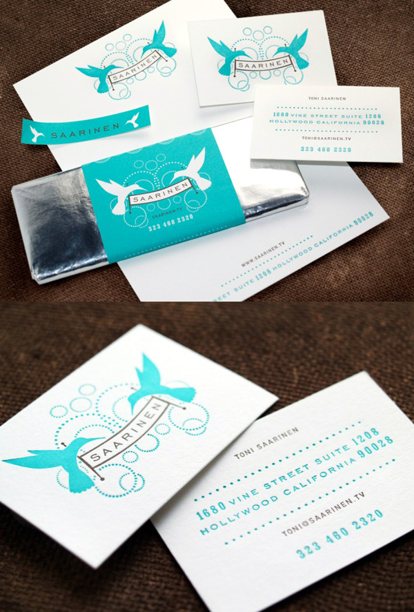 Toni Saarinen's Cute Business Card