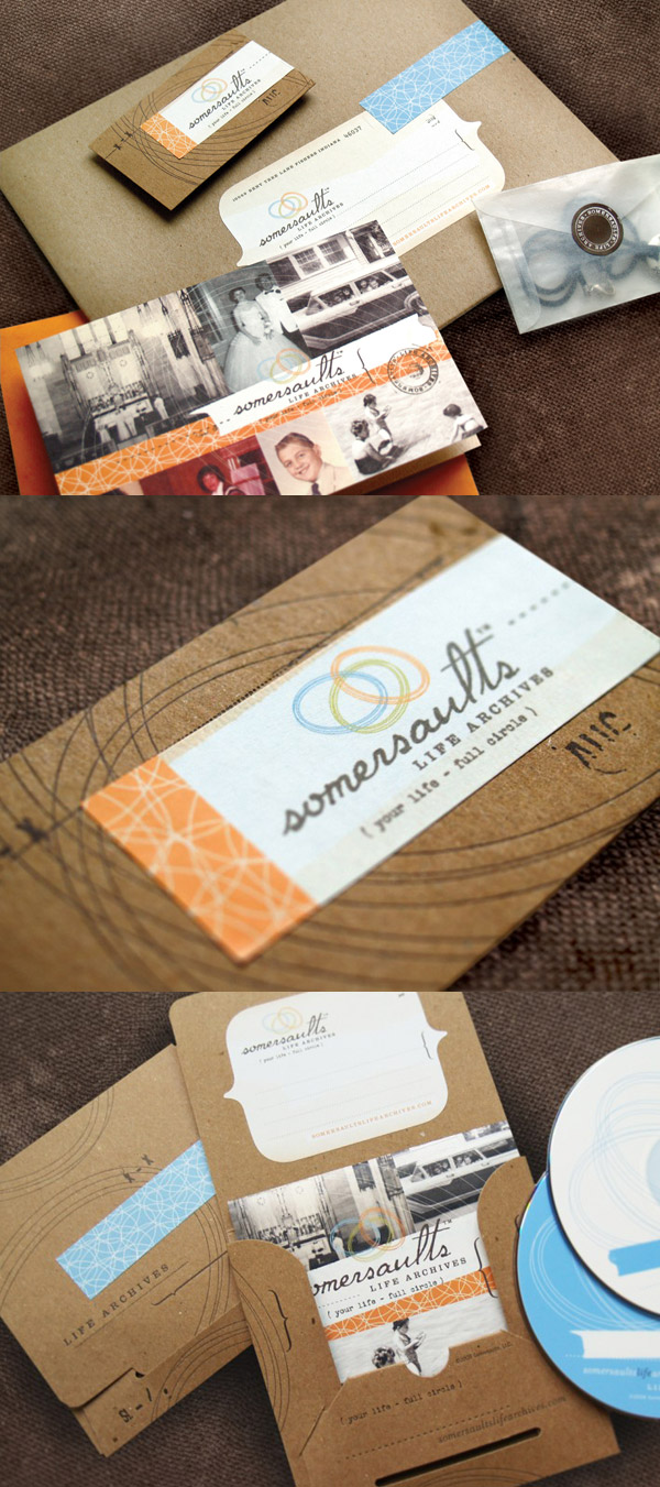 Somersaults Life Archive's Photography Business Cards