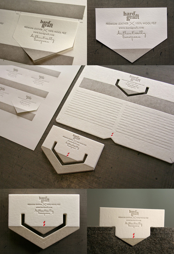 Hard Graft's Die Cut Product Tags