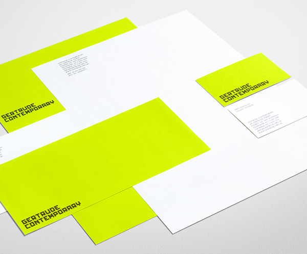 Gerturde Contemporary Minimalist Business Card