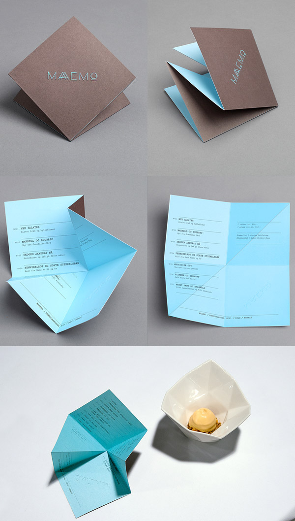 Maaemo's Cool Business Card & Brand Identity