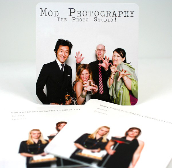 Mod Photography's Business Card