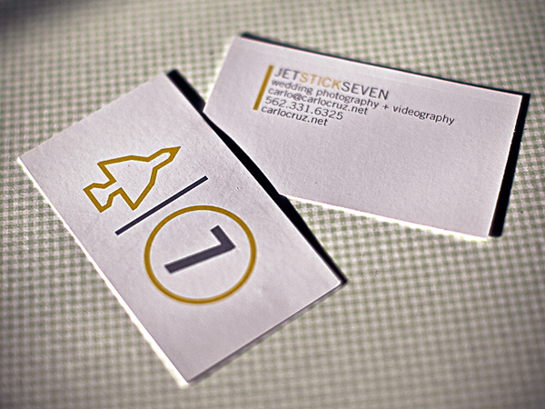 Carlo Cruzs Minimalist Business Card