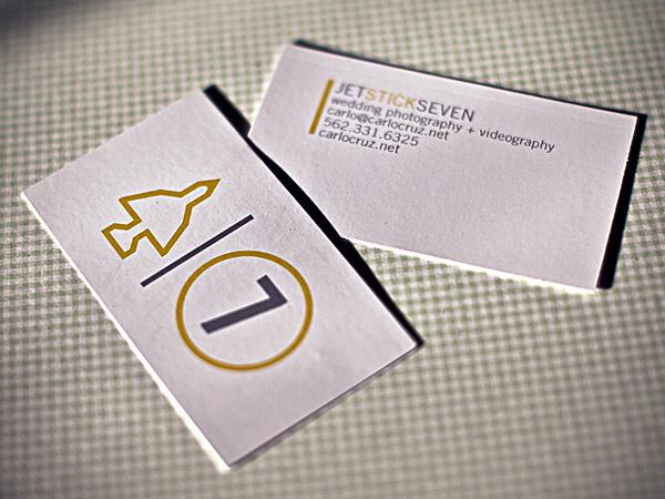 Carlo Cruz's Minimalist Business Card