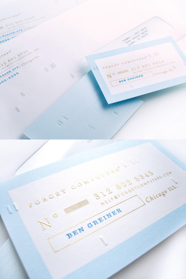 Forget Computers' Cool Business Card