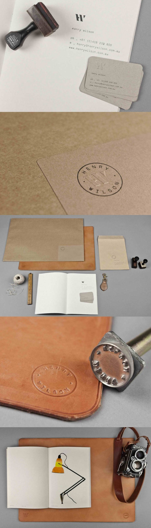 Henry Wilson Business Card & Brand Identity