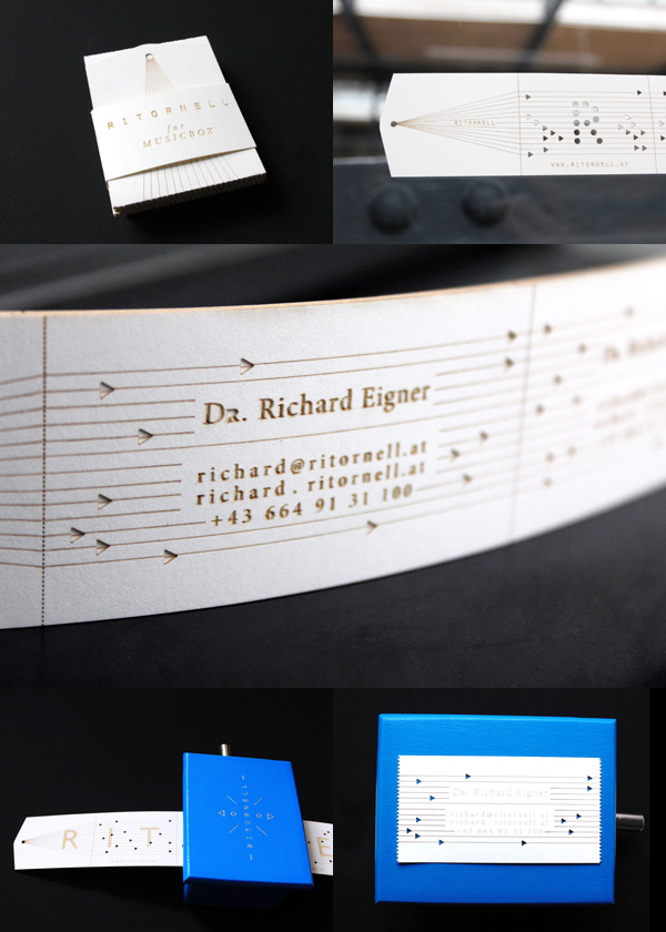 Richard Ritornell's Creative Musical Business Card