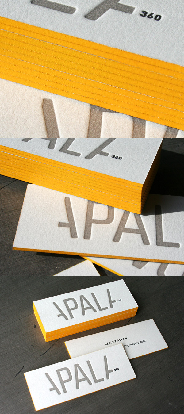 Post image for Apala Corp's High Quality Business Card