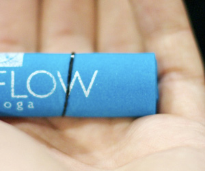 Flow Yoga's Unique Business Card