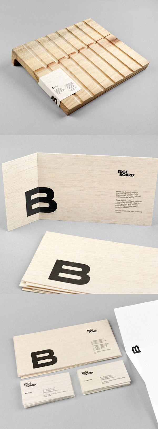 EdgeBoard's Minimalist Business Card & Branding