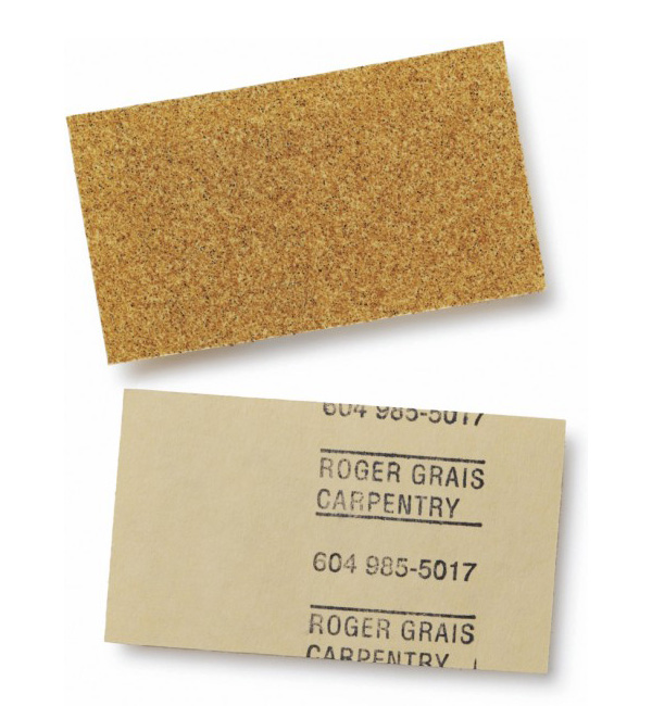 Carpenter Roger Grais' Creative Business Card
