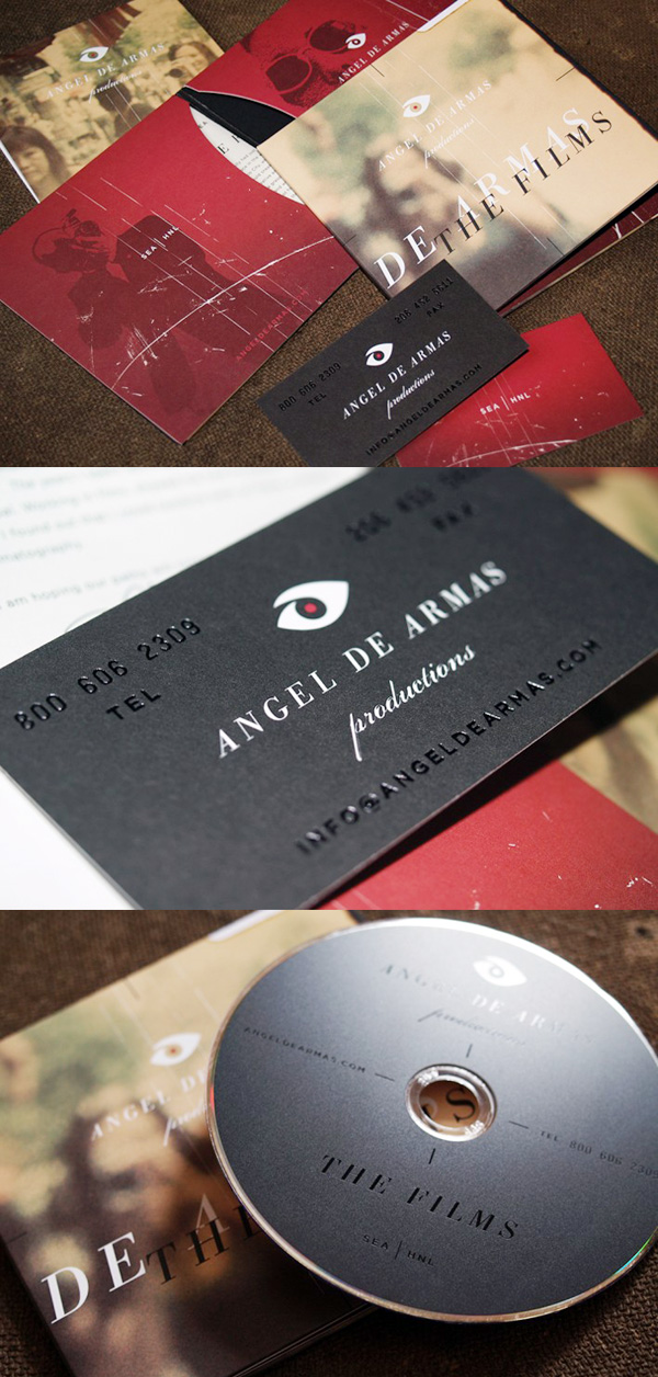 Angel de Armas Business Card & Idenity