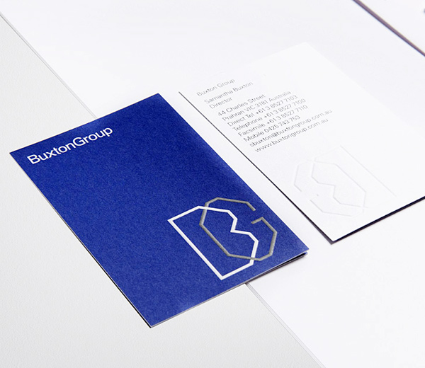 Buxton Group's Business Card