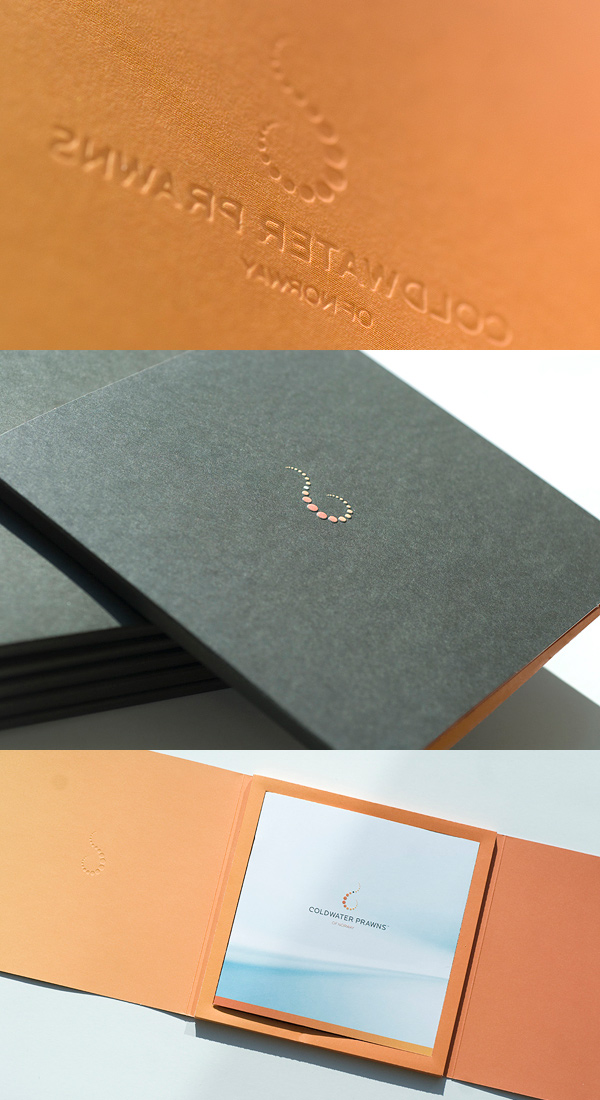 Coldwater Prawns of Norway Branding & Identity