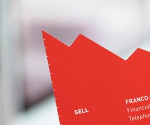 Financial Advisor Franco Caligiuri's Clever Business Card
