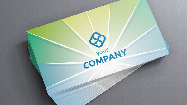 Free Corporate Business Card Template by PixeDen