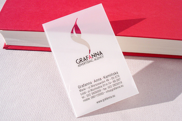 Grafanna's Sleek Business Card
