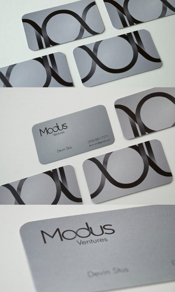Modus Ventures' Cool Business Card