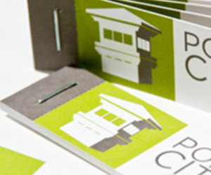 Port City Studio's Mini Business Card