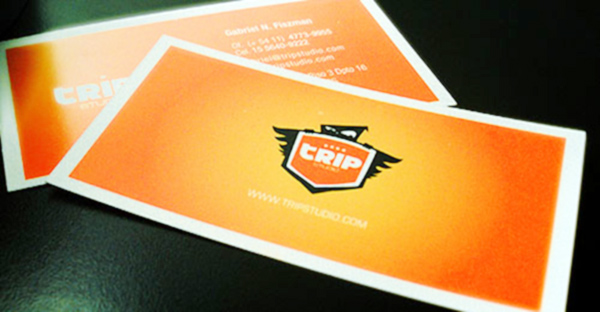 Trip Studio's Colorful Business Card