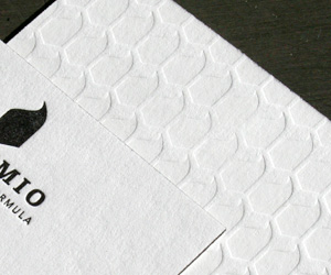 Sublimio's Letterpress Business Cards