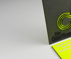 The Continentale's Cool Business Card
