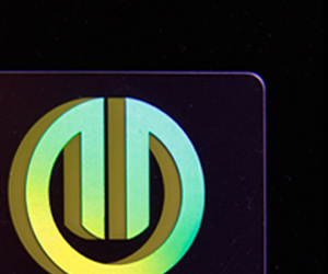 Genix Design's Holographic Business Card